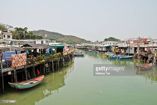 Pang Uks (stilt houses) in Tai O, Hong Kong