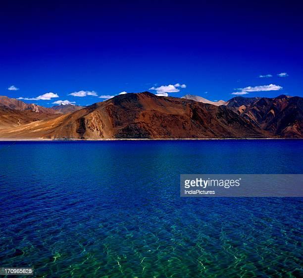 Pangong lake Ladakh Jammu and Kashmir India