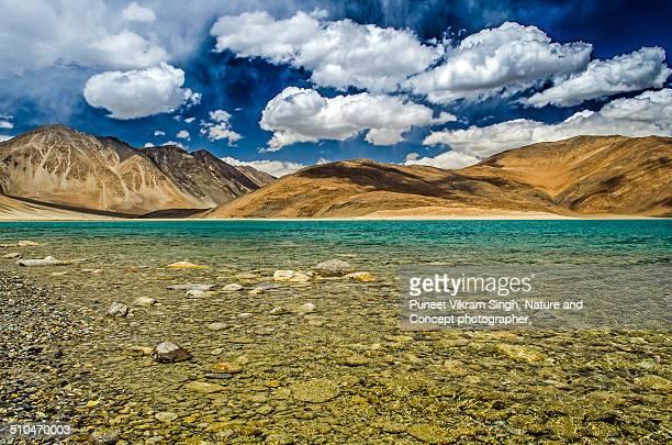 Pangong lake, Ladakh.