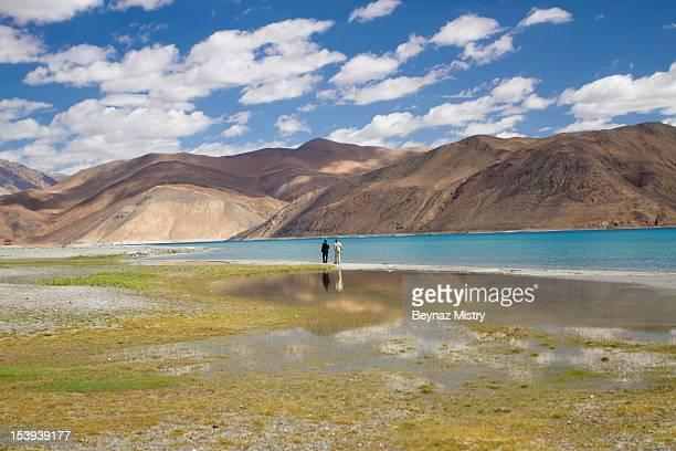 Pangong Lake. Ladakh Region, India.