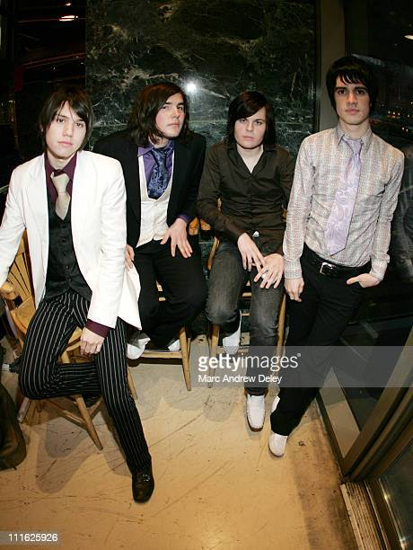 Panic At The Disco during The Academy Is and Panic At The Disco InStore Performance and Album Signing at Virgin Megastore in New York City February 8...
