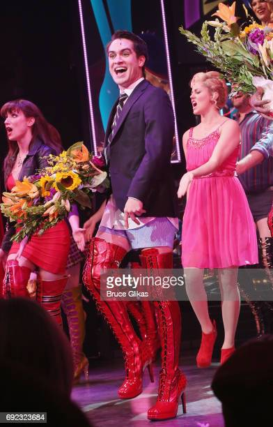 'Panic at The Disco's' Brendon Urie makes his broadway debut as 'Charlie Price' in 'Kinky Boots' on Broadway at The Al Hirschfeld Theatre on June 4...
