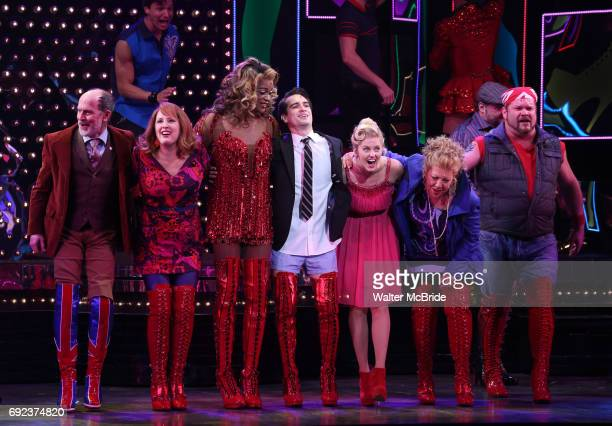 'Panic at The Disco's Brendon Urie makes his broadway debut as 'Charlie Price' in 'Kinky Boots' with J Harrison Ghee and Taylor Louderman on Broadway...