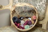 Joséphina, vannerie spéciale pour les travaux d'aiguilles comme la couture et le tricot