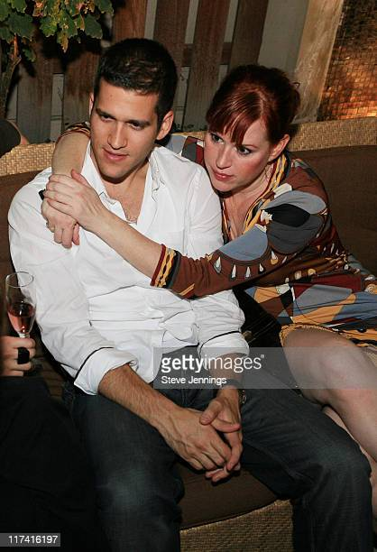 Panio Gianopoulos and Molly Ringwald during Gran Centenario Ultra Premium Tequila Hosts Opening Night Reception for Broadway's 'Sweet Charity' Debut...
