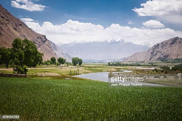 Panj River in the Wakhan corridor, Tajikistan