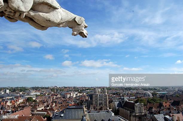 Panorama depuis la Tour Philippe le Bon