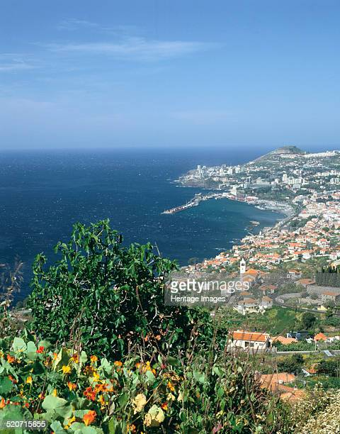 Panorama Funchal Madeira Portugal