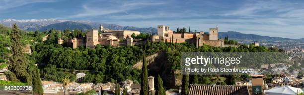 Panorama of Alhambra