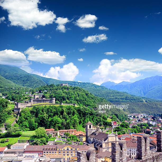 Panorama von Bellinzona