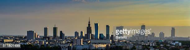 Panorama of Capital of Poland