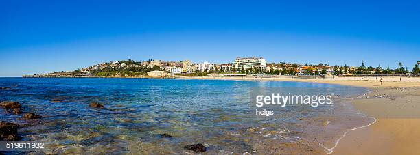 Panorama of Coogee Beach in Sydney, Australia