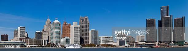 Panorama of Detroit, Michigan