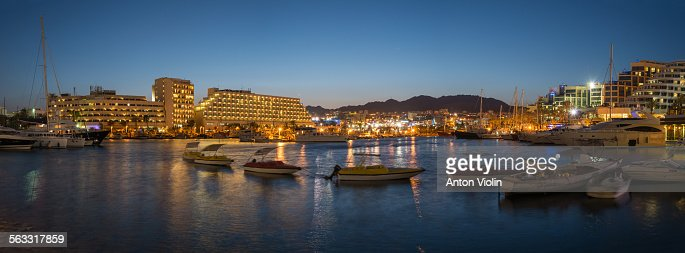 Panorama of Eilat bay