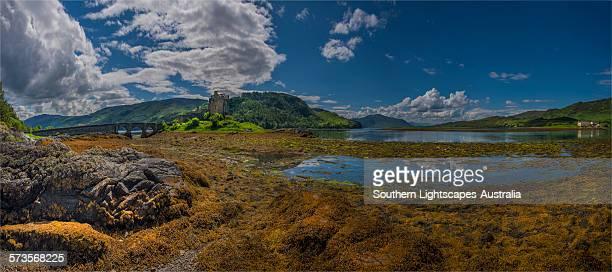 Panorama of Eilean Donan Castle