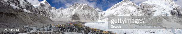 Panorama of Everest Base Camp