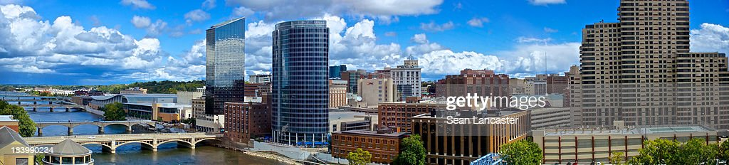 Panorama of Grand Rapids