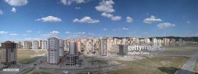 Panorama of Kayseri : Stock Photo