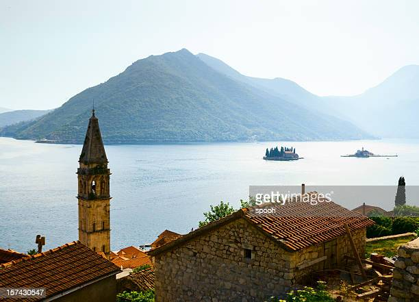 Panorama of Kotor Bay in Perast