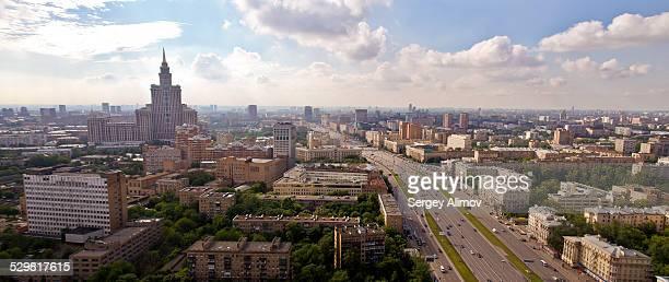 Panorama of Leningradskiy Prospect