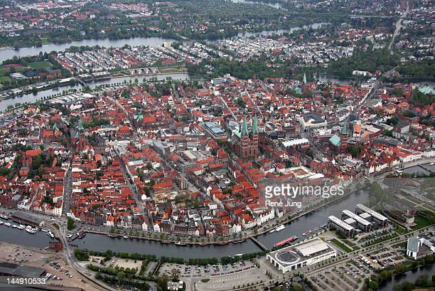 Panorama of Lubeck