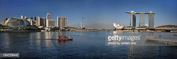 Panorama of Marina Bay Singapore