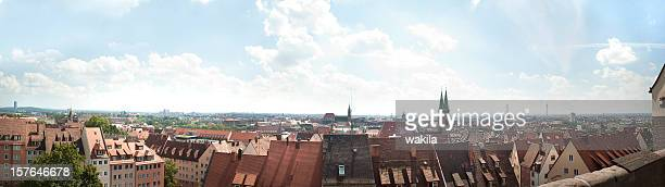 panorama von Nürnberg