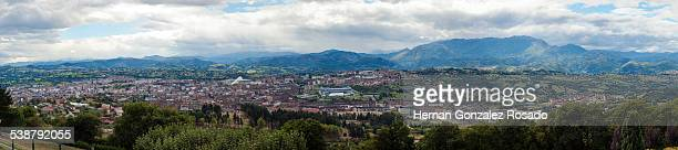 Panorama of Oviedo
