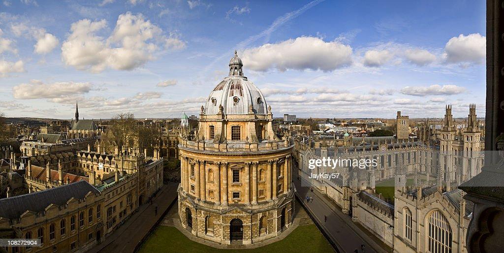 Panorama of Oxford Skyline : Stock Photo