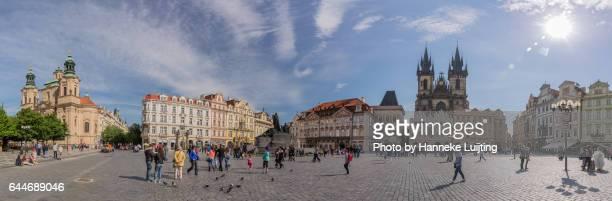 Panorama of Prague Old Town Square