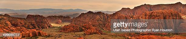 Panorama of Snow Canyon State Park
