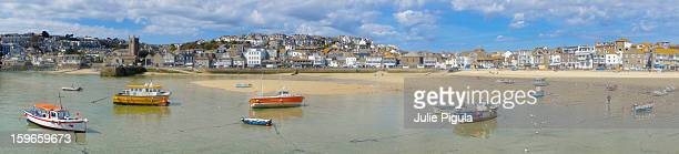 Panorama of St Ives, Viewed from Harbour