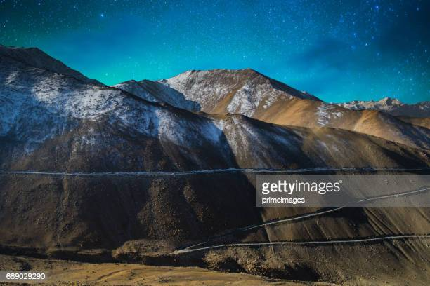 Panorama of Starry night in Norther part of India