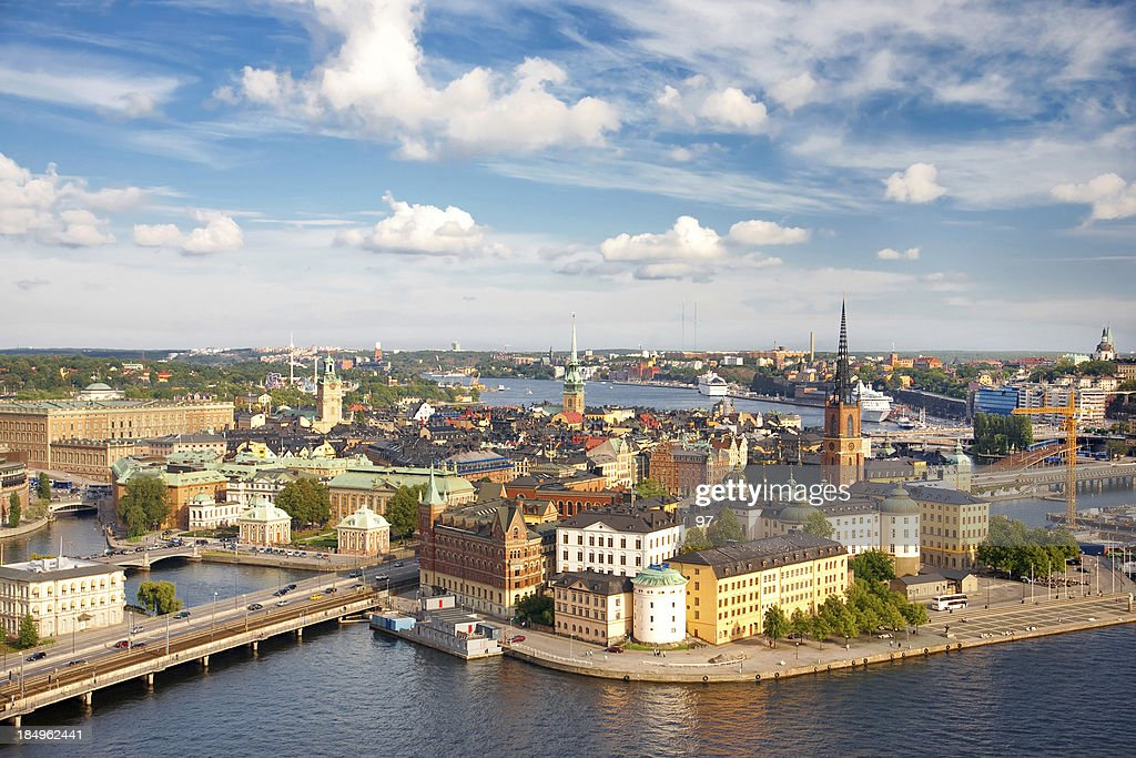 'Panorama of Stockholm, Sweden'