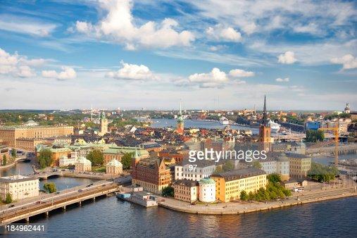 パノラマの Stockholm ,Sweden