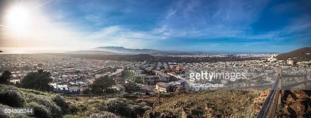 Panorama of the City of San Francisco California