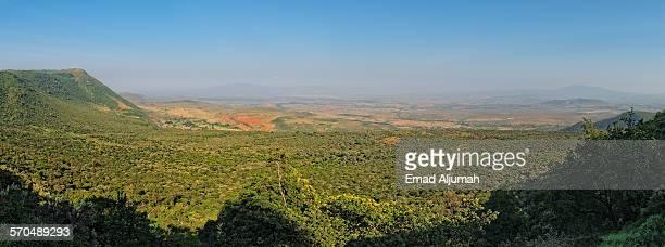 Panorama of the Great Rift Valley, Kenya