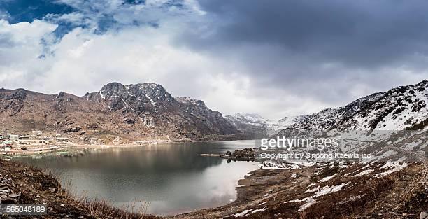 Panorama of the Tsomgo Lake in North Sikkim