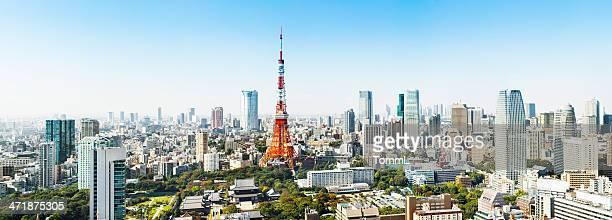 Panorama de Tokyo, Japon