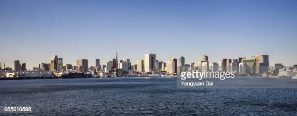 Panorama of Tokyo Skyline