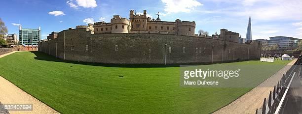 Panorama von der Tower of London