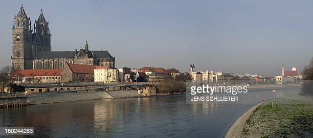 Panorama picture created from several frames on December 31 2008 shows the eastern German city of Magdeburg Magdeburg was once the goto city for...