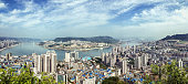 Panorama view of Wanzhou region in Chongqing