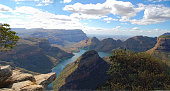 panorama view to blyde river canyon southafrica