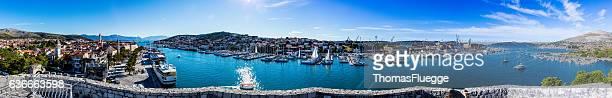 Panorama von Trogir-Dalmatien