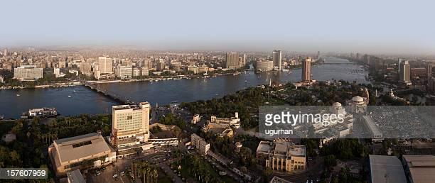 Panoramica città del Cairo