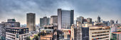 Panoramic Cityscape of Mexico City