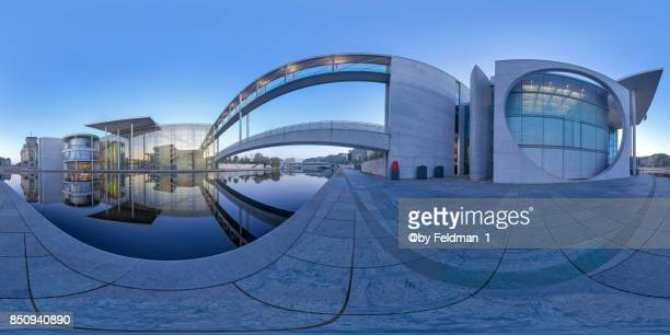 360° Panoramic government district , Berlin,Germany