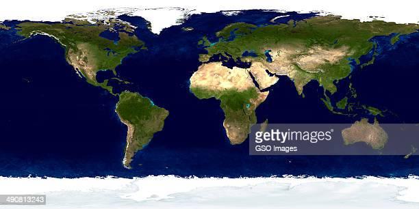 Panoramic image of Earth