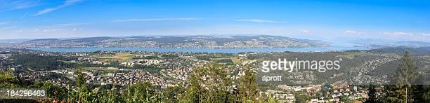 Panorama Bild von Lake Zurich